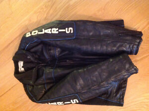 POLARIS leather jacket and pants winter