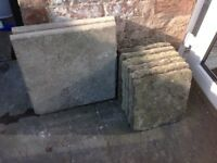 PAVING SLABS / STEPPING STONES £15 THE LOT