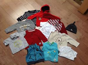 Vêtements pour bébé garçon 6-12 mois