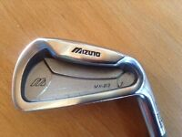 MIZUNO MX-23 NUMBER 3 IRON RIGHT HANDED WITH STEEL SHAFT.