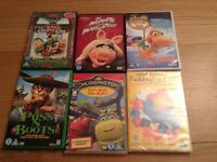 13 Kids dvd's all for £7