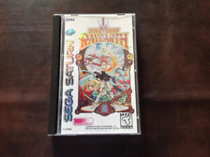 Magic Knight Rayearth Sega Saturn Complete