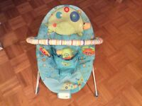 Baby saucer chair & shopping cart cover / play mat