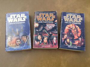 Star Wars Heir to the Empire+Dark force rising+The last command