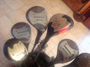 Golf drivers-woods-bois- droitier-right side- 1-3-5 used