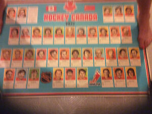 1972 team Canada un cut poster Windsor Region Ontario image 1