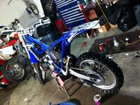Needs work Blown up not running dirtbikes wanted cash on hand