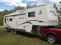 Arctic Fox 29.5T Silver Fox Edition Fifth Wheel