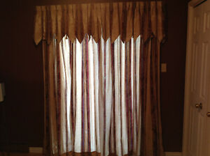 NEW PRICE! Curtains for sale, $110 OBO