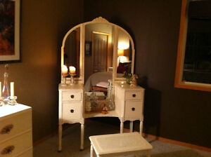 Antique Vanity (Perfect for a Princess Bedroom or Dressing Room)