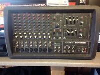 Mackie 808s ft series 1200 watt pa mixer amp