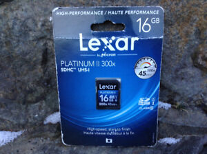 """""""Your Best Deal"""" on a Lexar 16gb full size SD card"""