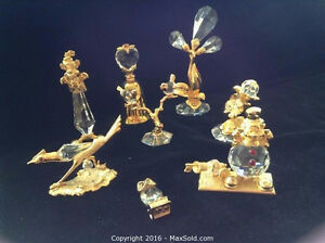 Gold And Crystal Figurines  (June 7)