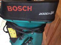 Bosch 2000 HP Garden ( Elct )Shredder