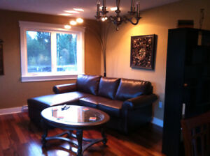 Cozy 2 bedroom suite in the country but still close to downtown