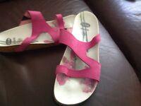 Ladies Scholl sandals