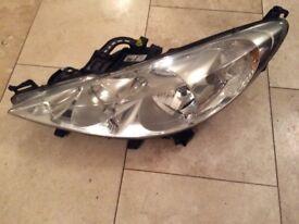 Peugeot 207 N/s headlight