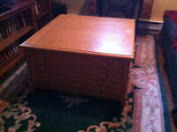 TV Cabinet and Coffee Table - new price.