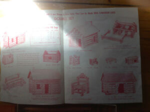 Canadian Logs Antique Children's Toy-( Lincoln Logs ) Kitchener / Waterloo Kitchener Area image 3