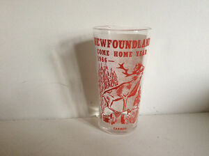1966 Come Home Year Tall Glass