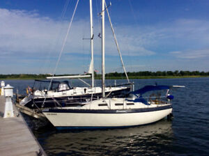 Voilier CS 27 (Canadian Sailcraft)