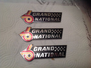 3 Buick Grand-National EMBLEM