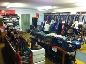 Leader Tip Top Tailors Blow-Out Sale (Leader, SK.)
