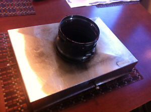 4in chimney top plate.