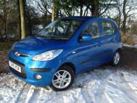 Hyundai i10 1.2 Style 2010 2 LADY OWNERS, FEB 2019 MOT 8 STAMP SERVICE/H