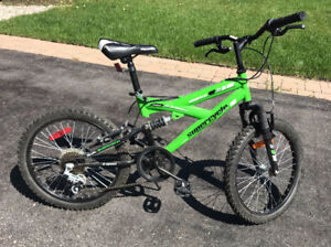 """Momentum Supercycle Bike 20"""" Dual Suspension - Good Condition"""