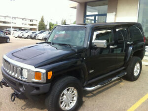 2007 HUMMER Leathher Black H3 4x4 SUV Best one in town for sale
