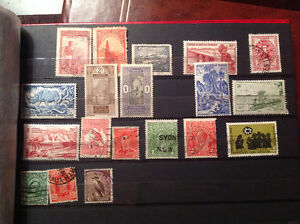 International stamp collection / timbres