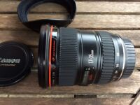 Canon Ef 17-35mm f2.8L lens for sale.