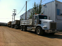 t800 kenworth gravel truck/quad wagon