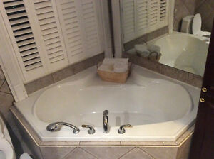 Large Soaker Bathtub