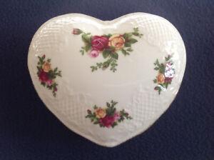 Royal Doulton Heart Jewelry Trinket Box