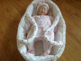 Alberon Baby Doll In Carrycot.