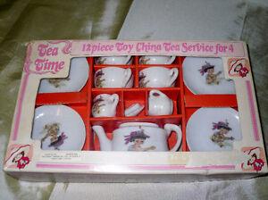 Mid Century Child's Tea Set