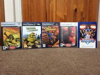 Playstation 2 with all round selection of games.