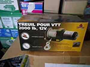 New 2000lbs atv winch West Island Greater Montréal image 3