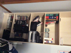 5 tier book/storage shelf