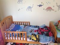 Used wooden junior bed