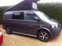 VW Transporter Camper Van