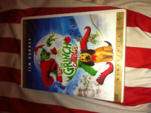 When the grinch stole xmas,jim carrey,dvd