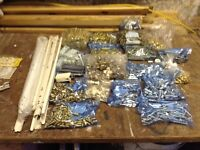 Job Lot Of Fittings For Kitchen Unit Assembly
