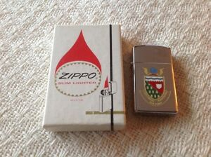 Three ZIPPO Lighters,  Different LOGOs on the Front,  Original