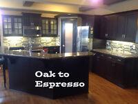 Kitchen Cabinet / Vanity Refinishing