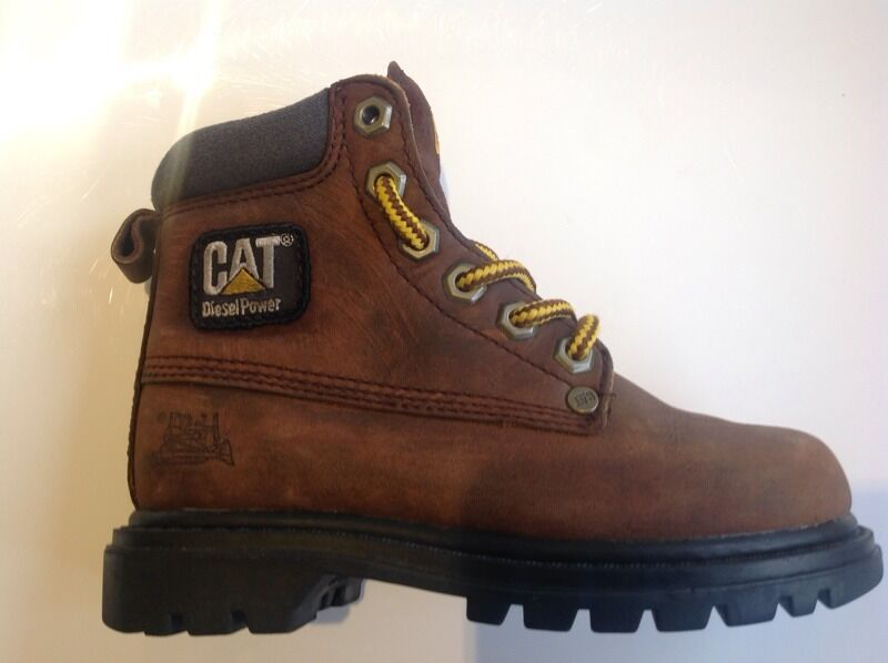 hot-selling fashion first look price Boys Brown Cat Boots Uk Size 10 Children's Kids Timberland ...