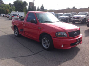 1999 FORD F150 SVT LIGHTING SUPERCHARGED TRADES WELCOME