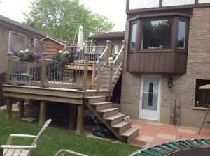 Decks starting at $5/square foot. Limited time only! Kitchener / Waterloo Kitchener Area image 1